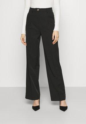 VMJESSIEWIDE PANTS - Trousers - black
