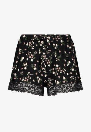 DITZY FLOWER - Pantaloni del pigiama - black