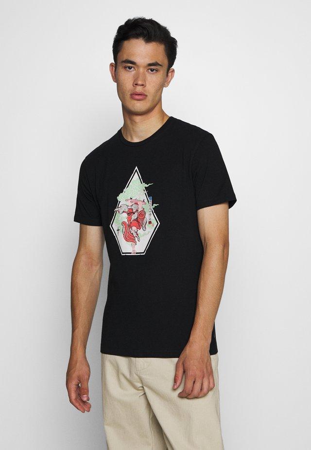 NOZAKA SKATE  - T-shirt print - black