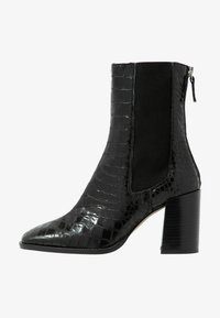 Topshop - HUNTINGTON BOOT - Classic ankle boots - black - 1