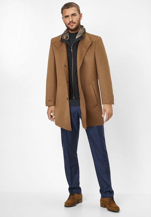 NEWTON - Short coat - camel (dk. beige)