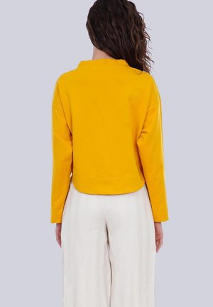 Sweater - senfgelb