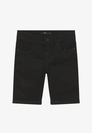 NLMSHAUN - Farkkushortsit - black denim