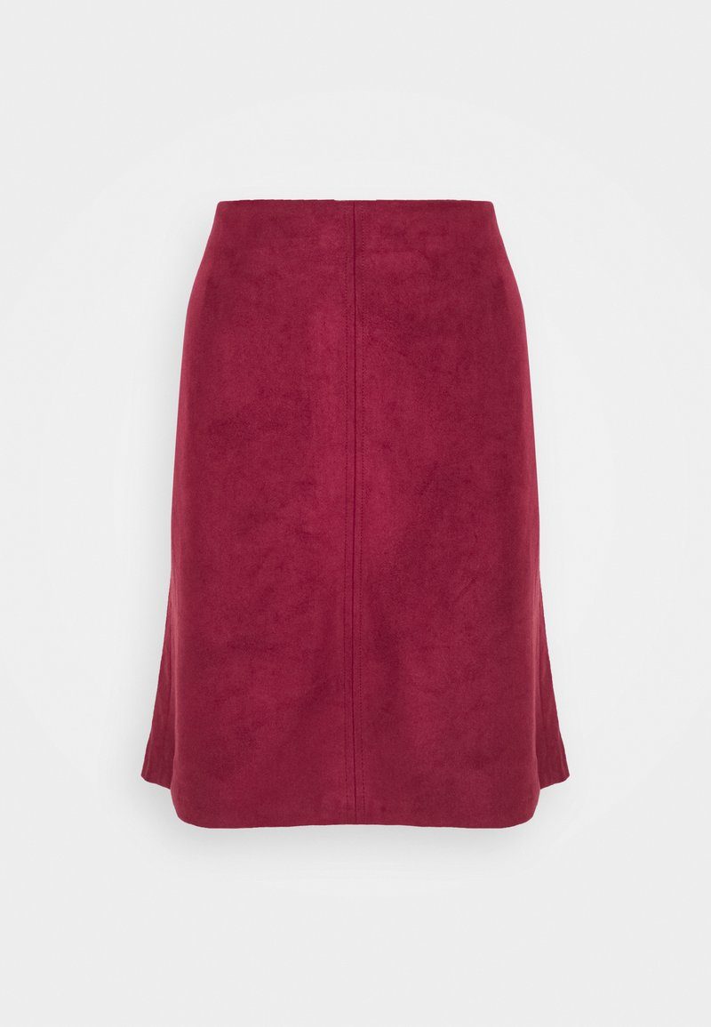 Esprit - A-line skirt - bordeaux red