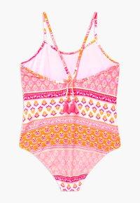 Sunuva - GIRLS BLOCK PRINT - Swimsuit - sherbert pink - 1