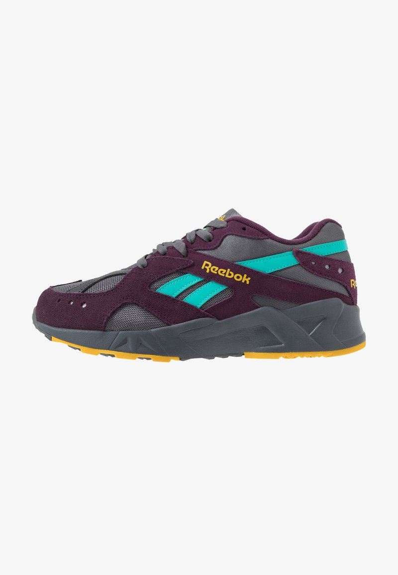 Reebok Classic - AZTREK - Sneakers - outdoor/true grey/urban violet/yellow/teal/lime