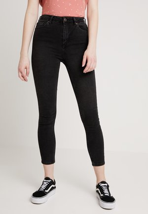 PINE TROUSERS - Jeans Skinny Fit - worn black
