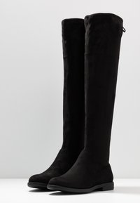 Anna Field Wide Fit - Botas mosqueteras - black - 4