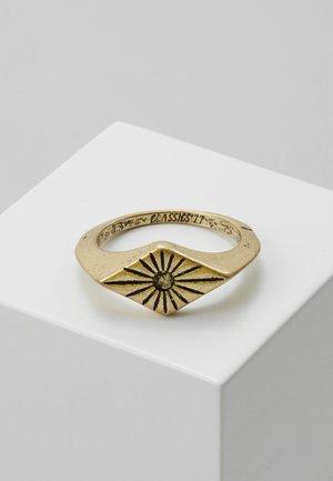 SUNBEAM DIAMOND - Ring - gold-coloured