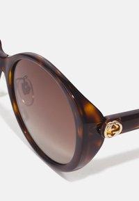 Gucci - Sunglasses - havana brown - 3