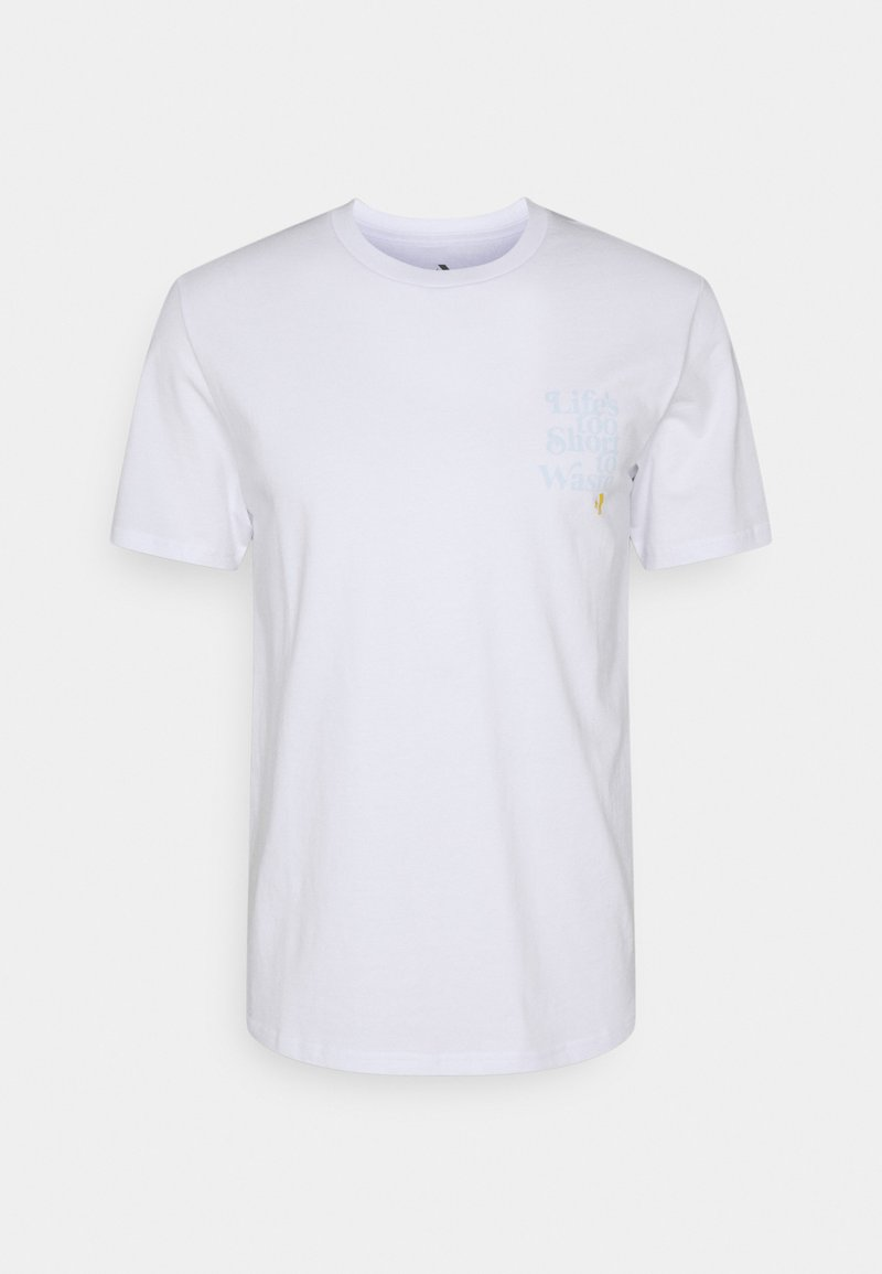 Converse - RENEW TEE UNISEX - Print T-shirt - white