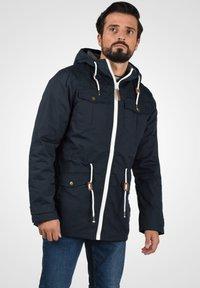 Solid - TILAS - Winter jacket - dark blue - 0