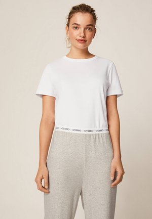 IM REGULAR FIT - Pyjamasöverdel - white