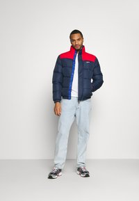 Tommy Jeans - CORP JACKET - Vinterjacka - twilight navy - 1