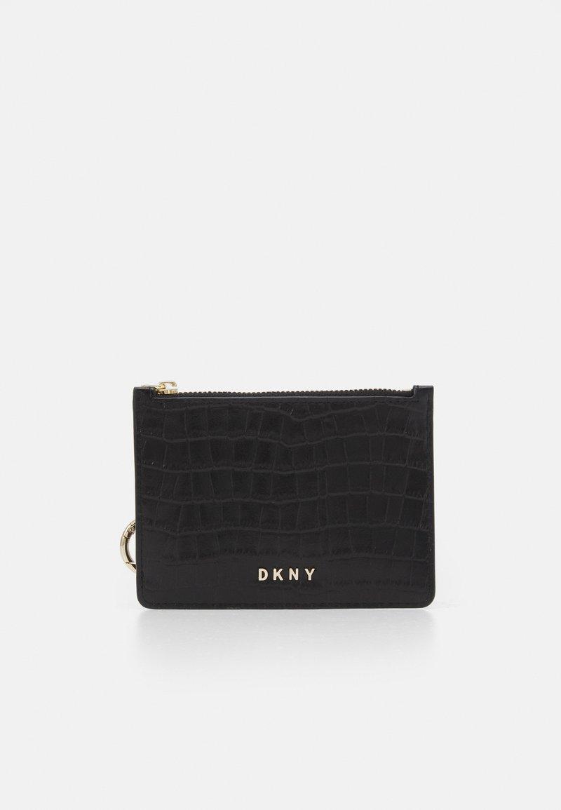 DKNY - DEMI  - Peněženka - black/gold