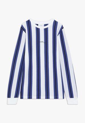 LINTON  - Long sleeved top - white/web blue