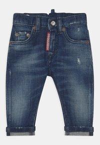 Dsquared2 - UNISEX - Slim fit jeans - blue denim - 0