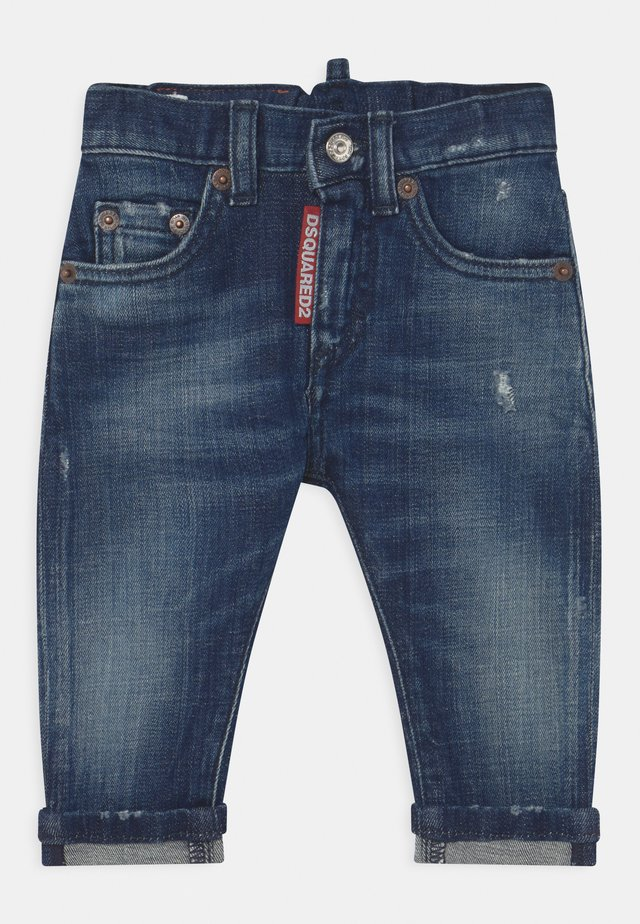 UNISEX - Slim fit jeans - blue denim
