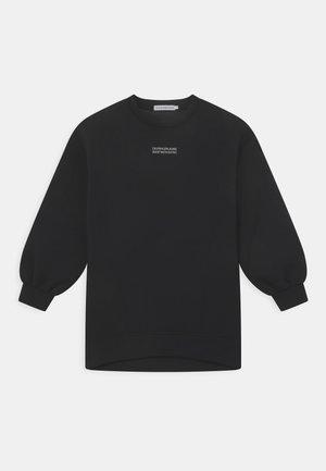 LINEAR LINES DRESS - Jersey dress - black