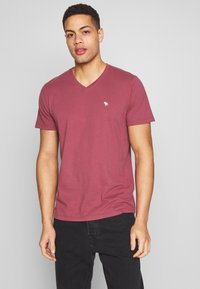 Abercrombie & Fitch - 5 PACK - Camiseta básica - red/blue/white