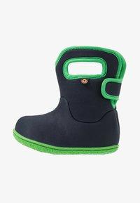 Bogs - BABY SOLID - Zimní obuv - navy - 1