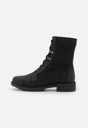 EMELI II LACE - Šněrovací kotníkové boty - black