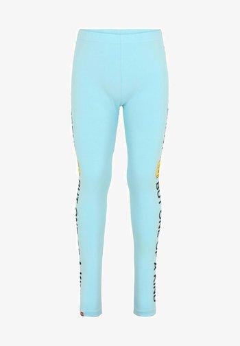 Leggings - Trousers - light turquise