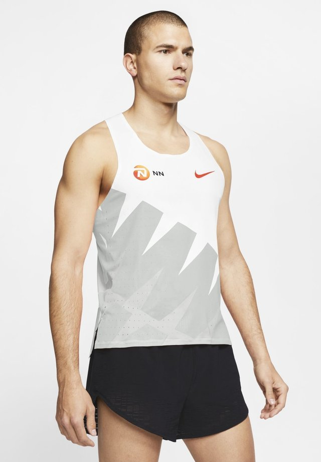 Débardeur - white/photon dust/platinum tint/team orange