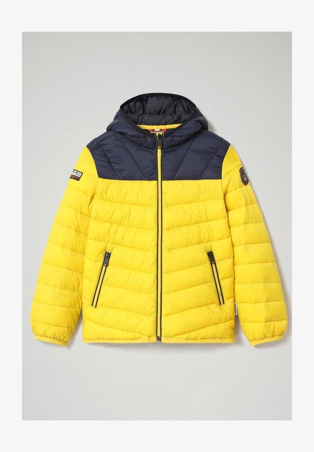 AERONS - Winter jacket - yellow oil