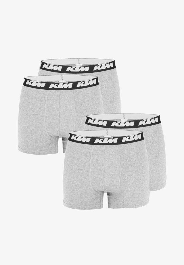 4 pack - Boxer shorts - light grey