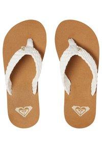 Roxy - PORTO - Pool shoes - cream - 2