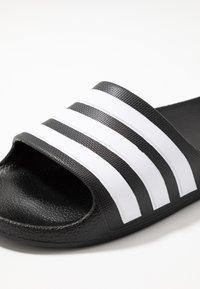adidas Performance - ADILETTE AQUA - Pool slides - core black - 2