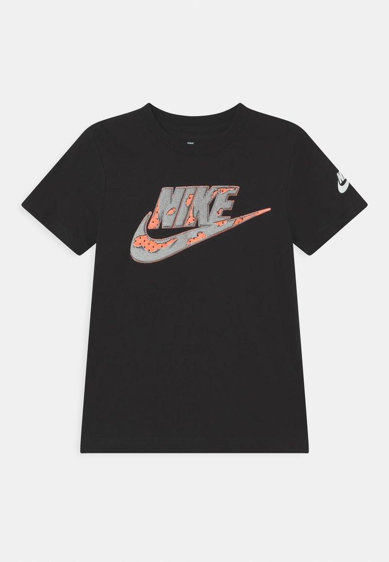 Nike Sportswear - SHORT SLEEVE GRAPHIC - Print T-shirt - black