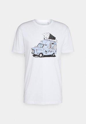 ICE ICE - T-shirt imprimé - white