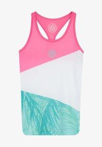 BIDI BADU - ISALIE TECH TANK - Funkční triko - pink/white/mint - 3