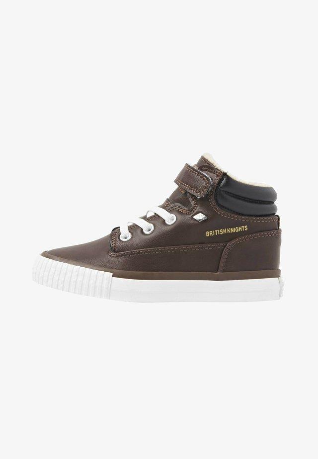 BUCK - High-top trainers - dk brown/black