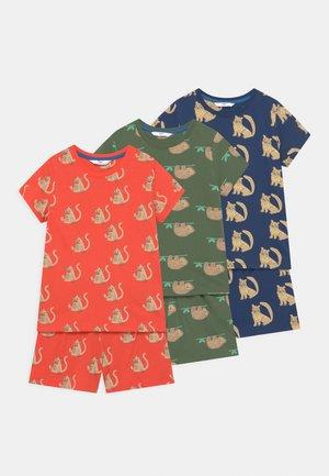 ANIMAL 3 PACK UNISEX - Pyjama set - multi-coloured