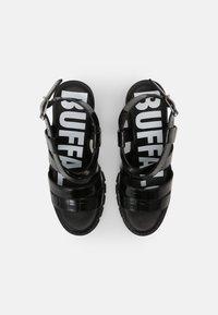 Buffalo - VEGAN RAGAN - Platform sandals - black - 4