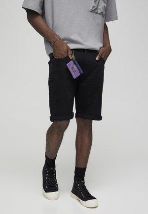 Jeansshorts - black