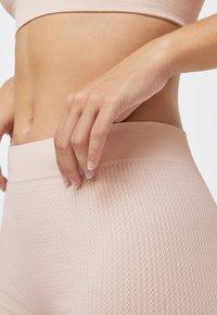 OYSHO - KNIT  - Pants - beige - 5