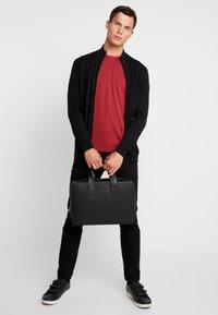 Esprit - Basic T-shirt - bordeaux red - 1