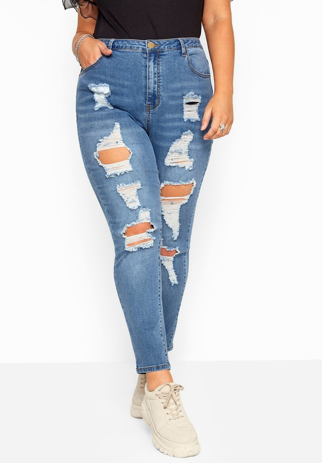 RIPPED AVA - Jeans Skinny Fit - blue