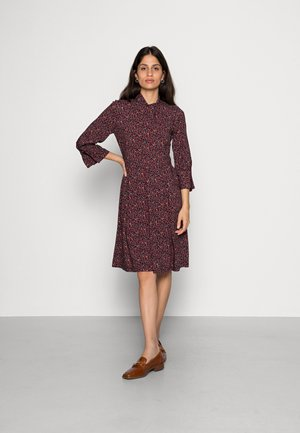 CLOSET LONDON TIE NECK DRESS  - Day dress - brown