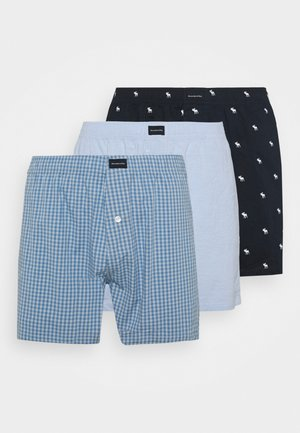 3 PACK  - Boxer shorts - blue/blue/navy