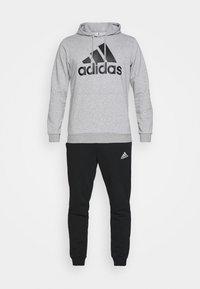 adidas Performance - SET - Träningsset - medium grey heather/black - 6