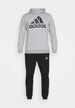 SET - Träningsset - medium grey heather/black