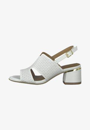 Sandaler - white struct