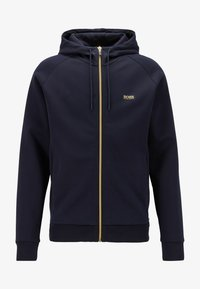 BOSS - Zip-up hoodie - dark blue - 3