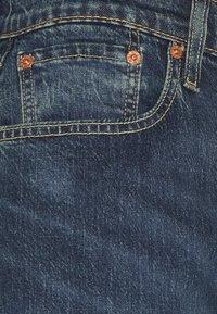 Levi's® - 502™ REGULAR TAPER - Jeans Tapered Fit - dark indigo/worn in - 4