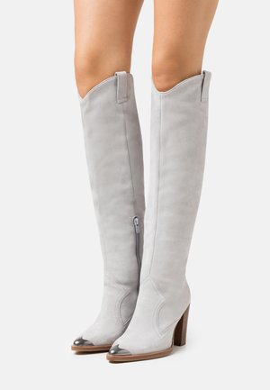 NEW AMERICANA - High heeled boots - ice grey